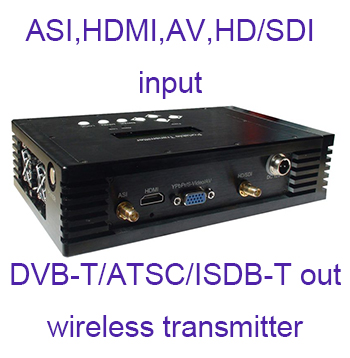 Digital TV wireless transmitter